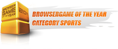 Browsergame of the Year 2011 - Category Sports!